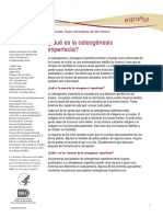 Osteogenesis Imperfecta Ff