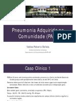 Caso Clínico Pneumonia - Para Estudo