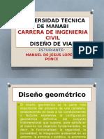 Diapositiva Diseño de Vias