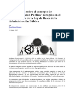 Concepto Administracion Publica
