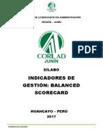 MODELO-De-SÍLABO-Indicadores de Gestión Balanced Scorecard