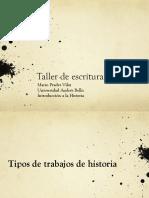 Presentación cómo escribir un ensayo histórico