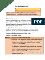 Plan Anual Lenguaje 2 Unidad Tercero Basico
