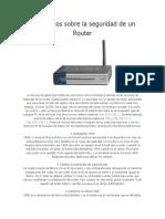 10 Secretos Sobre La Seguridad de Un Router