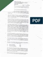 Fee Waiver Scheme Notification 2010