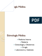 Etimología Médica 2 Diapo