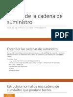 06 Diseño de La Cadena de Suministro