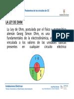 Ramo Analisis de Circuitos CC PPT Ley Ohm y Ctos
