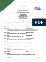 Request for Quality Metrics Agenda Revised 8-21-15