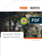 QuicHeal Threat Report 2016 2nd Quarter