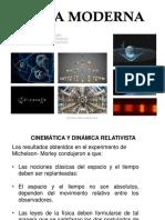 Fm Transf de Lorentz y Cinematica Relativista