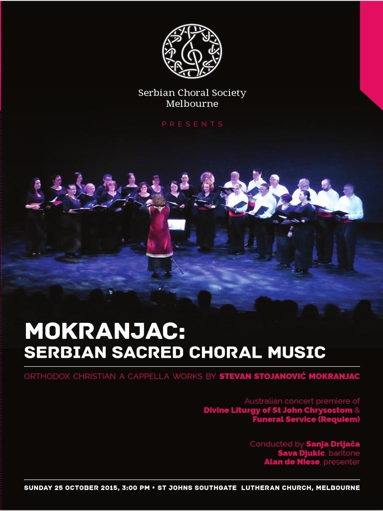 mokranjac_program1 | Choir | Christian Worship And Liturgy