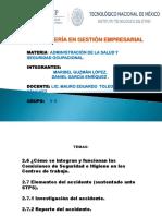 EXPOSICION de Administración de La Salud y Seguridad Ocupacional. (1)