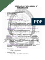 Type, Classification, And Pathogenesis