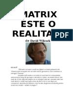 !!  MATRIX ESTE O REALITATE de David Wilcock.pdf