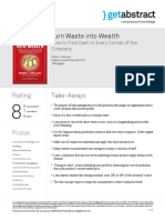 Turn Waste Into Wealth Deluzio en 24753