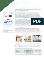 e-wolff Steigerung - Der Conversion Rate um 400 Prozent