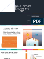 Paneles Termicos Estructurales (SIP)