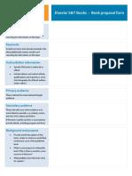 Elsevier ST Book Proposal General