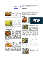 Makanan Khas 34 Provinsi Di