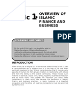 Overview Of Islamic Finance And Business