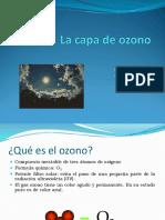 CAPA  DE OZONO 2016.ppt
