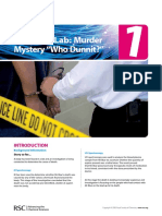 Mass Spec Exercise 1 - Murder Mystery_Teacher Resource Pack_ENGLISH