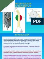 Concentración-Electrostática