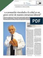 Dr. Anciones La Gaceta de Salamanca