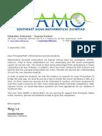 SEAMO 2016 Indonesia Letter