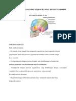 Learning Issue Anatomi Neurocranial Regio Temporal