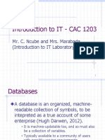 10 Databases