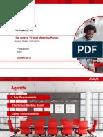 The Avaya Virtual Meeting Room