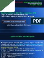 AL 107 Impozitul Specific