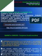 AL 119 Declaratii Inregistrare Fiscala Nerezidenti