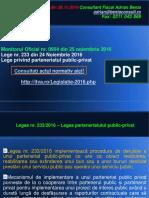 AL 123 Legea Parteneriatului Public-privat