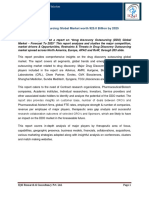 "IQ4I Research published a report on ""Drug Discovery Outsourcing (DDO) Global Market – Forecast To 2025"""