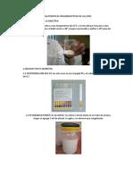Caracteristicas Organolepticas de La Leche