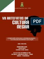 VII Artefatos CNegra 2016 Anais