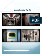 Macau Lobby advertising