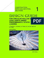 Desing Guide for Circular Hollow Section Joints