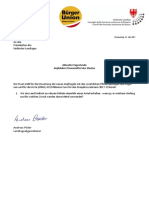 Impfzwang- Impfdekret - Finanzierung - Landtagsanfrage von Andreas Pöder und Antwort LR Martha Stocker