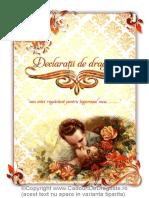Carte Declaratii de Dragoste Pt El Design2