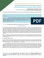 Iaetsd-jaras-A Novel Approach to Escalate XML Processing