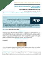 Iaetsd-jaras-fabrication and Characteristics of Jute and Its