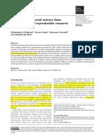 Administrative Social Science Data