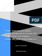 The Design and Implementation of the Anykernel and Rump Kernels 2ed - Antti Kantee