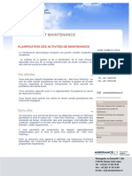 AFC Planification Des Activites de Maintenance