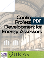 Continuous Professional Development for Energy Assessors