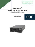 DVR movil AVERDIGI MOB1304NETGSM